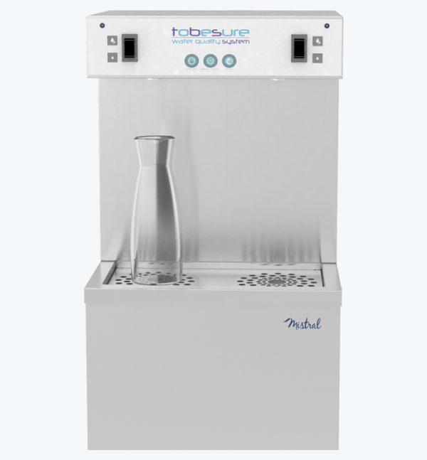 Reroidisseur d'eau sécurisée