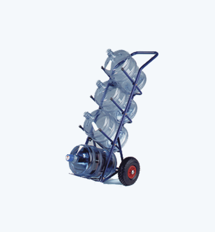 chariot de livraison accessoires pour bonbonnes eau. Black Bedroom Furniture Sets. Home Design Ideas