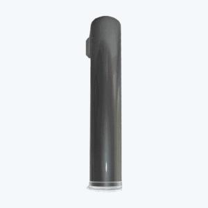 Récupérateur de gobelets gris métal