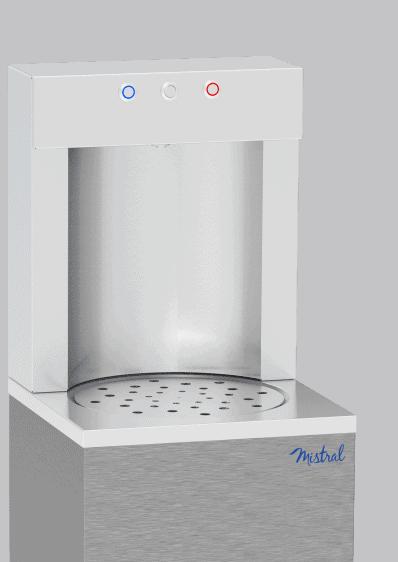 Fontaine électrique sur réseau