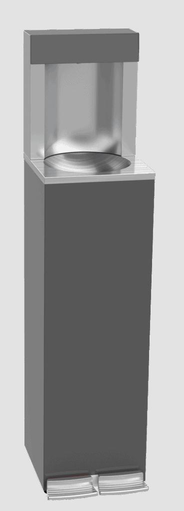 Fontaine réfrigérante avec double pédales de distribution