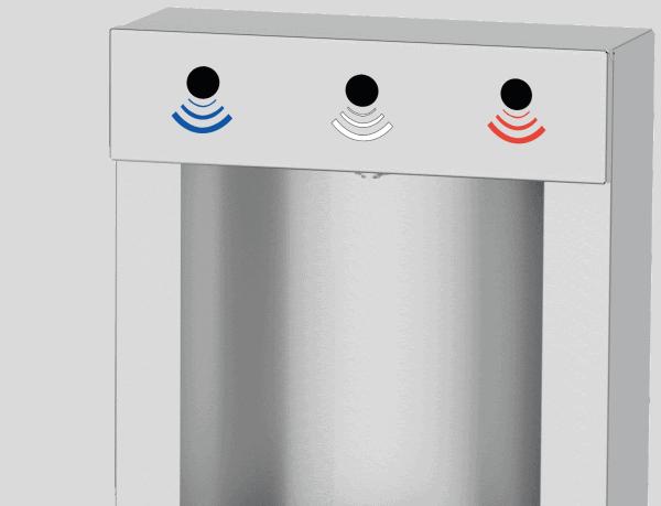 Electron Air - Capteurs de distribution infrarouge