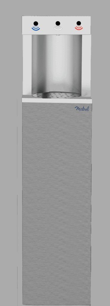 Fontaine filtrante à distribution par sélection à distance - Electron Air