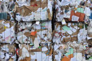 économie papier recyclé