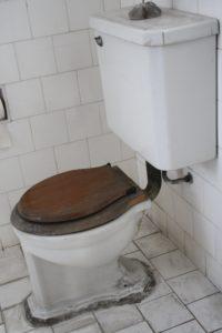 vieille toilette